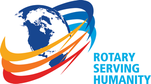 Logo for Rotary International's 2016/17 theme - Rotary Serving Humanity