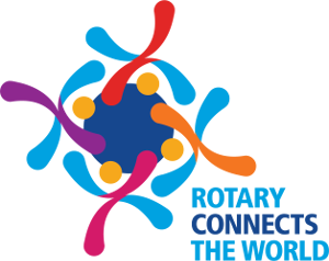 Logo for Rotary International's 2019/20 theme - Rotary Connects The World