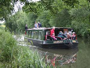 """Hannah"" on the Kennet and Avon canal"