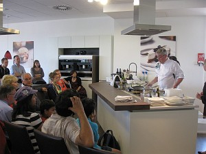 Chef demonstration