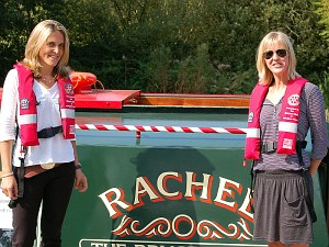The new Bruce Trust Barge called <em>Rachel</em>